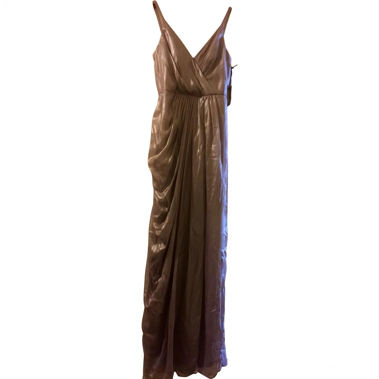 Vera Wang \N Metallic dress for Women 4 US