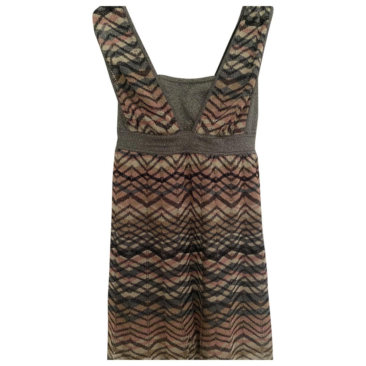 M Missoni \N Kleid in  Bunt Baumwolle - Elasthan