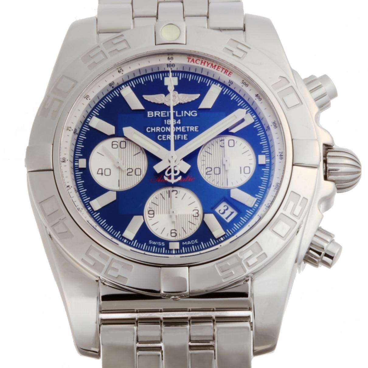 Breitling - Montre Chronomat pour homme en acier - argente