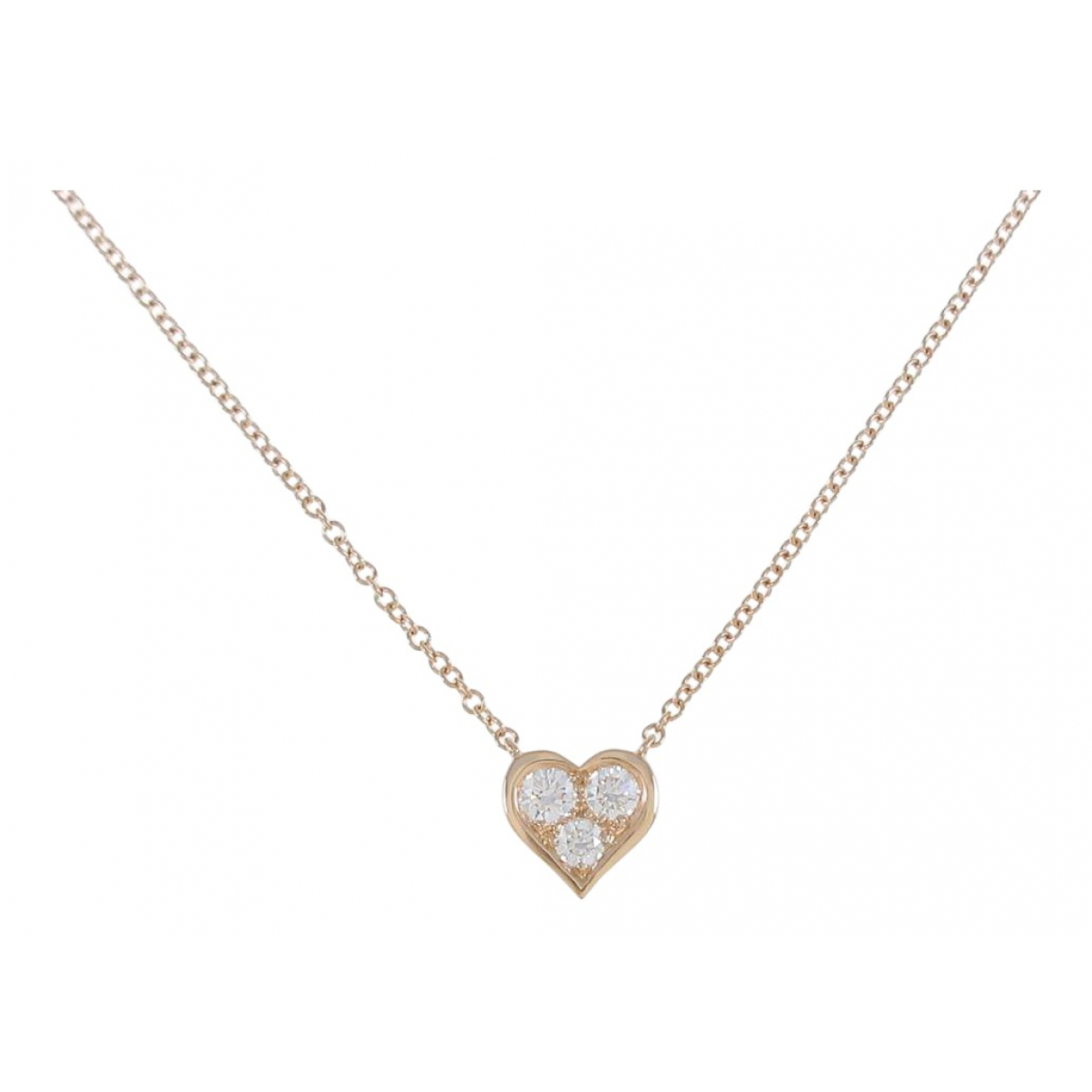 Tiffany & Co - Collier   pour femme en or rose - dore