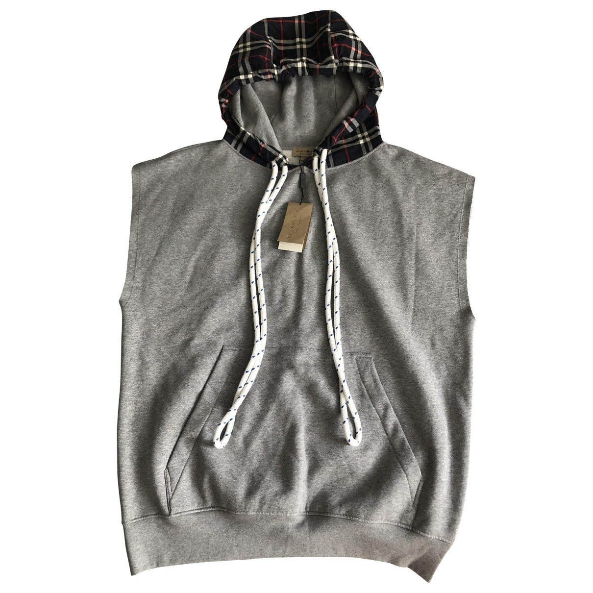 Burberry \N Grey Cotton Knitwear for Women S International