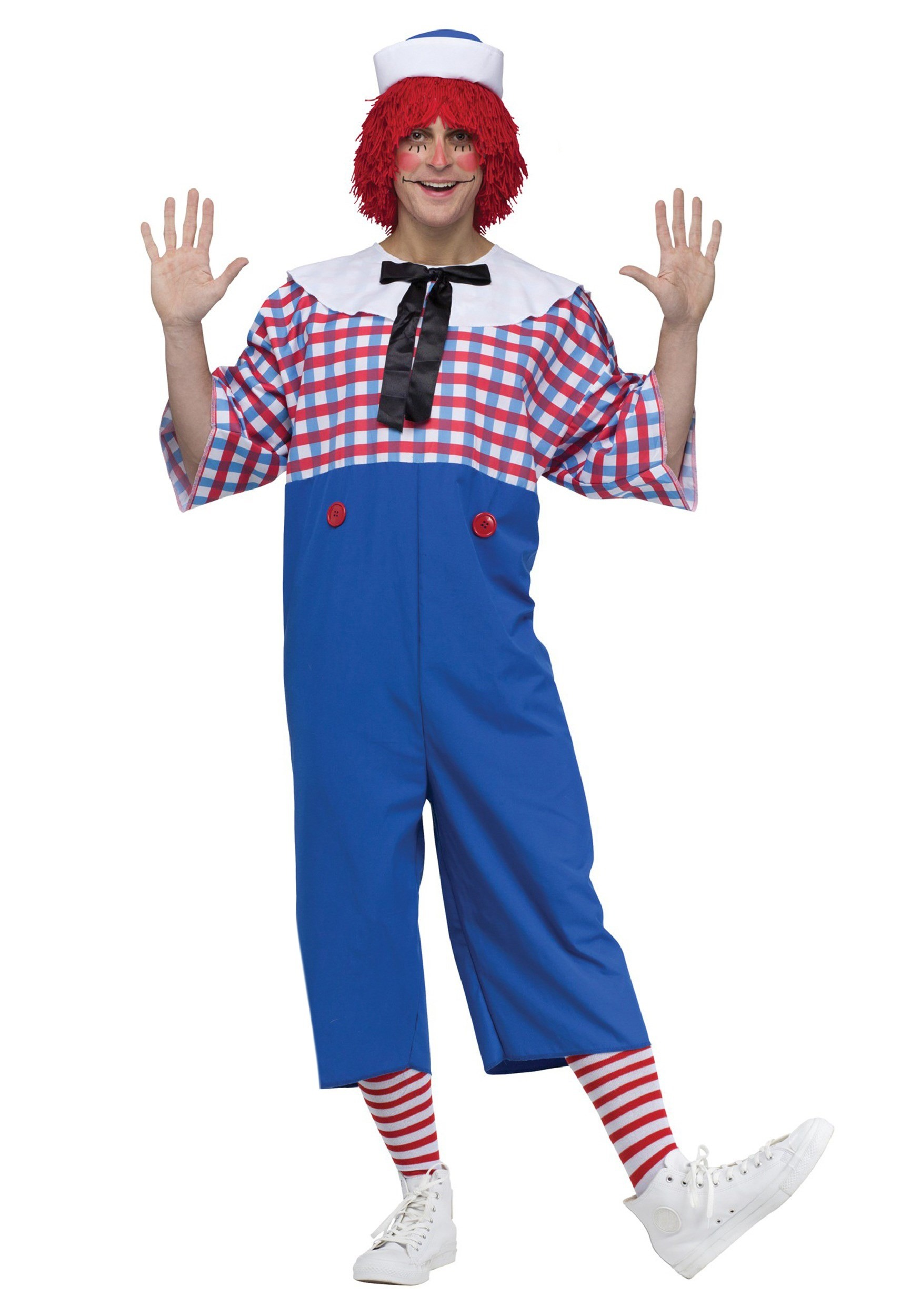 Raggedy Andy Costume for Adults