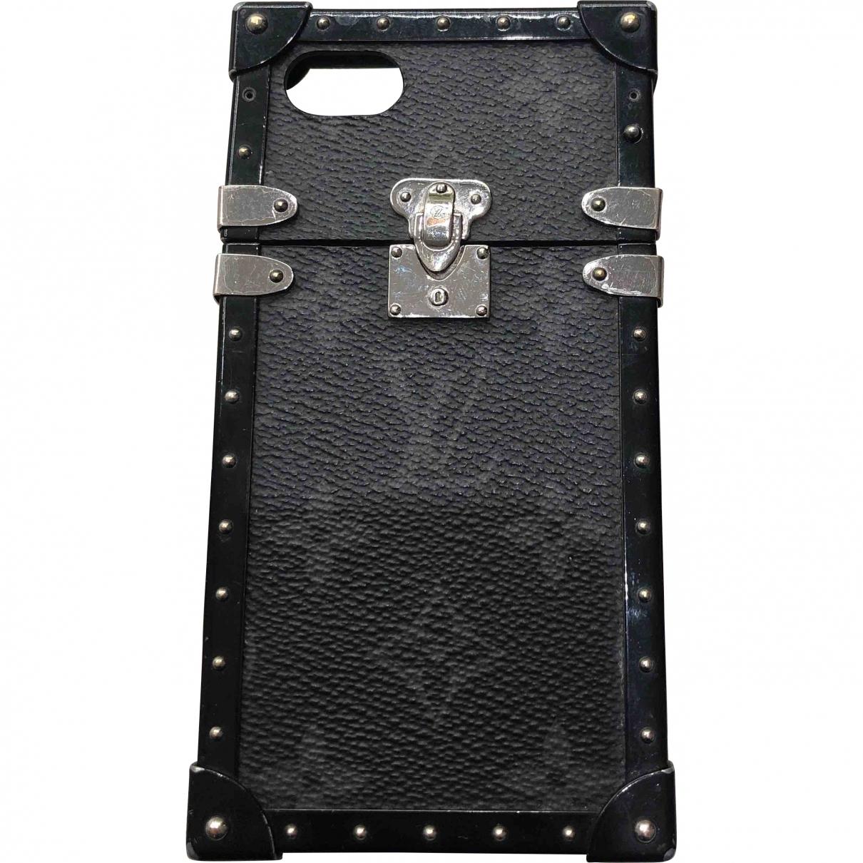 Louis Vuitton \N Black Cloth Accessories for Life & Living \N