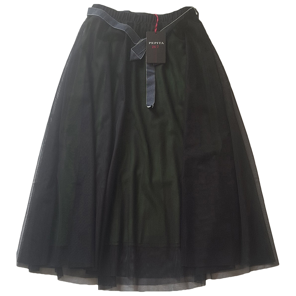 Non Signé / Unsigned \N Black skirt for Women 44 IT