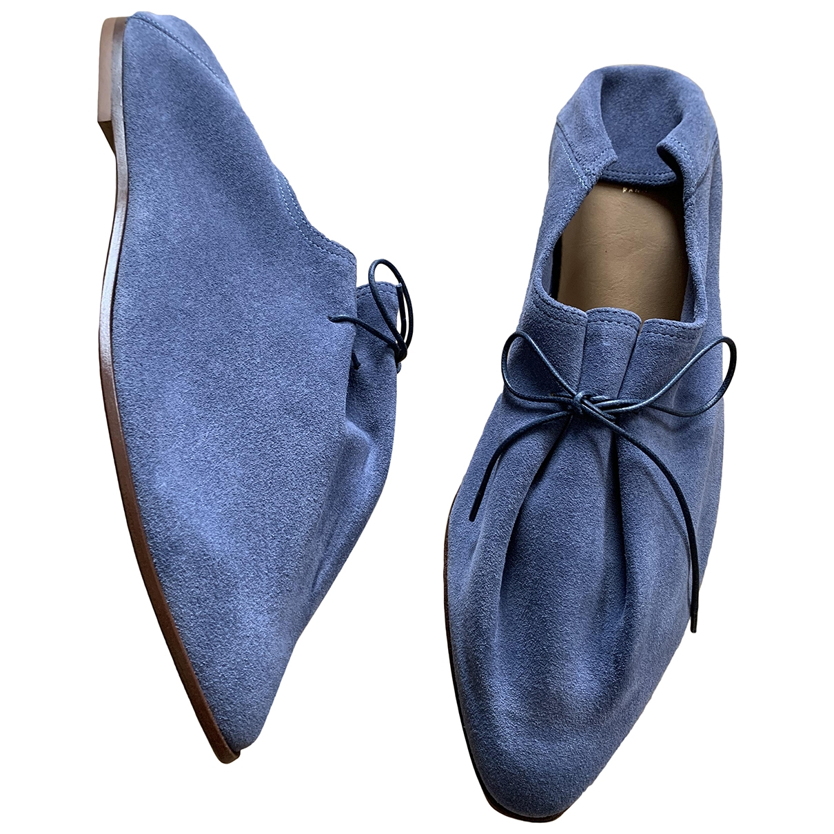 Solovière \N Blue Leather Sandals for Women 41 EU