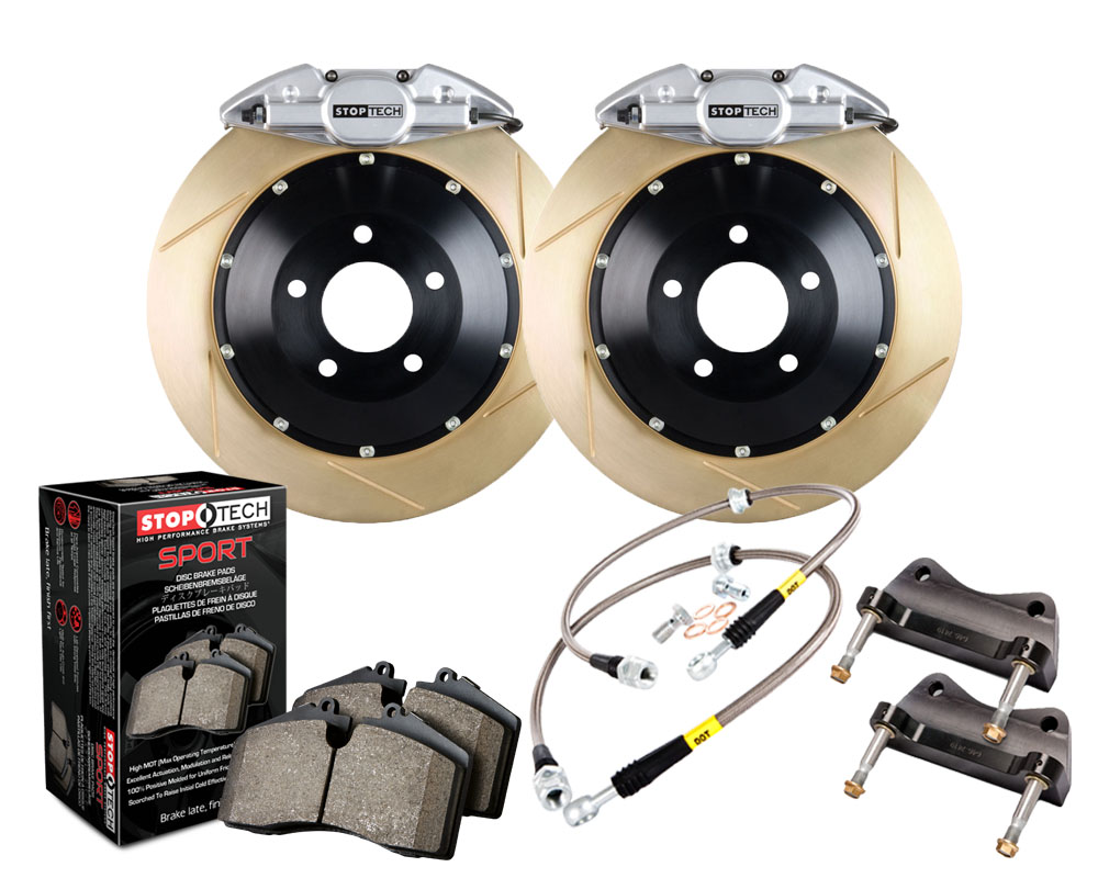 StopTech 83.622.0023.63 Big Brake Kit 2 Piece Rotor; Rear Mitsubishi Rear 2.0L 4-Cyl