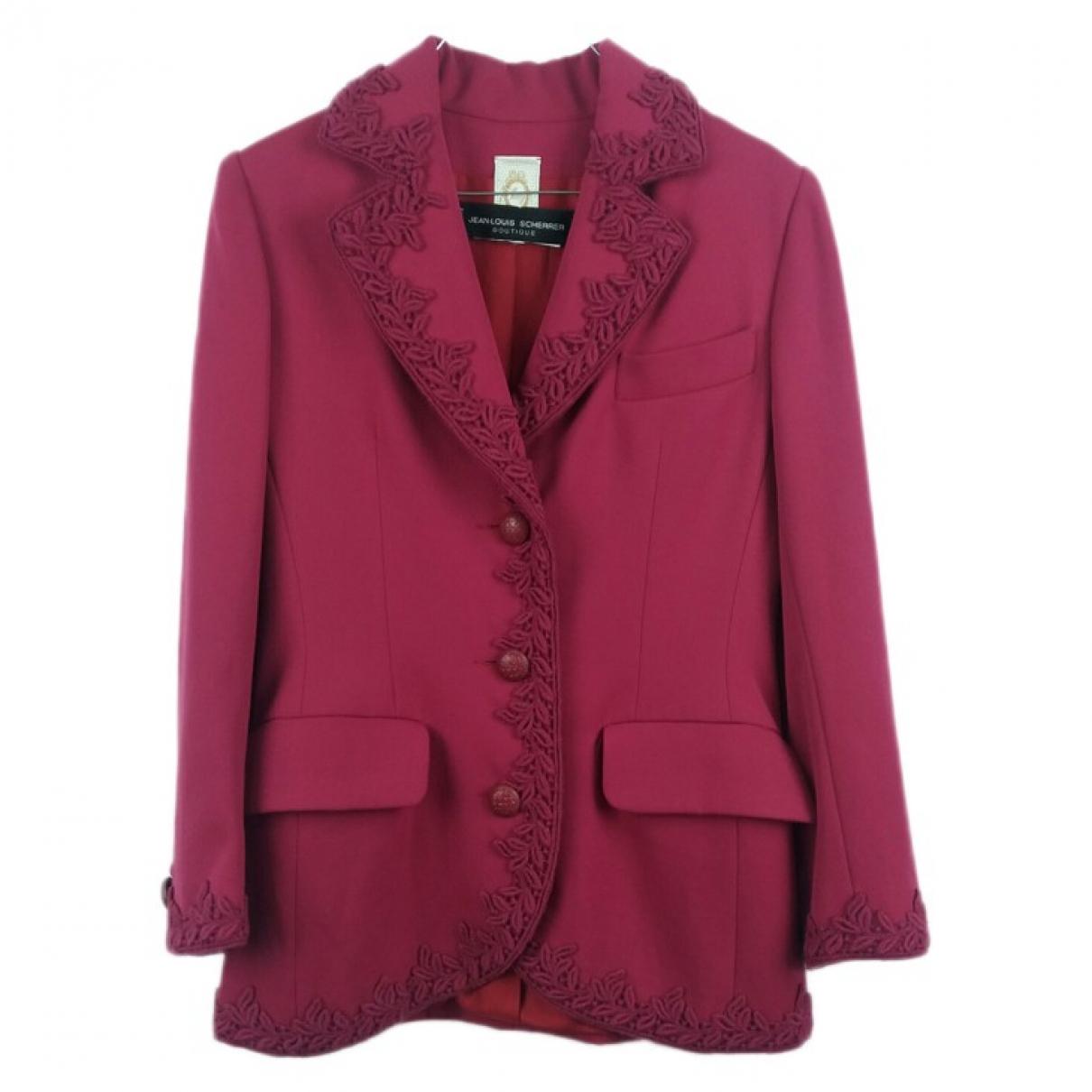 Jean-louis Scherrer \N Pink jacket for Women 42 FR