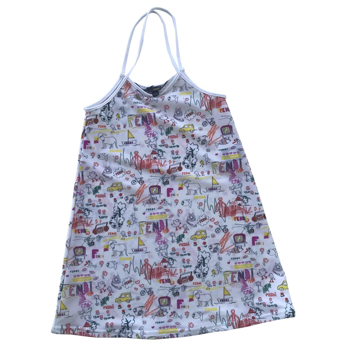 Fendi \N Kleid in  Bunt Polyester