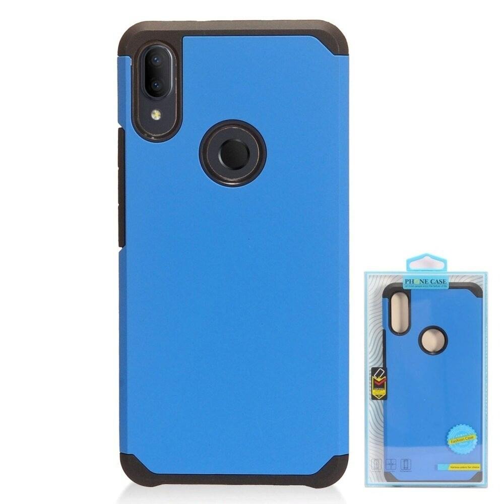 Insten Hard Hybrid TPU Case For Alcatel 3V (2019) - Blue/Black (Blue)