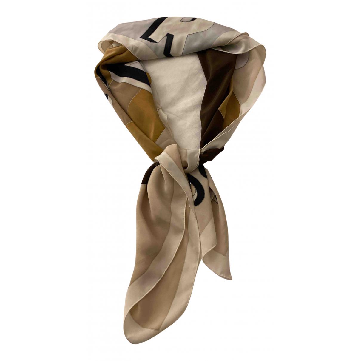 Dior - Foulard   pour femme en soie - beige