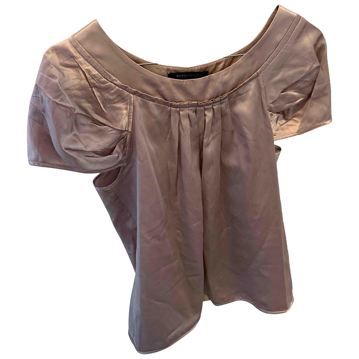 Bcbg Max Azria \N Pink Silk  top for Women XS International