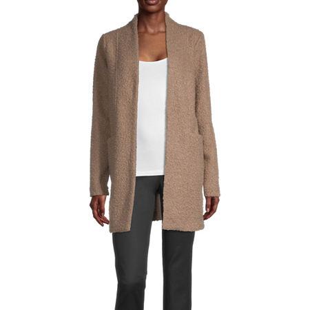Worthington Lightweight Overcoat, Large , Beige