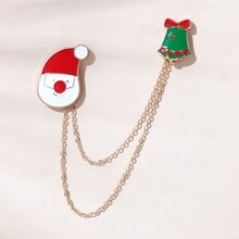 Christmas Bell Design Brooch