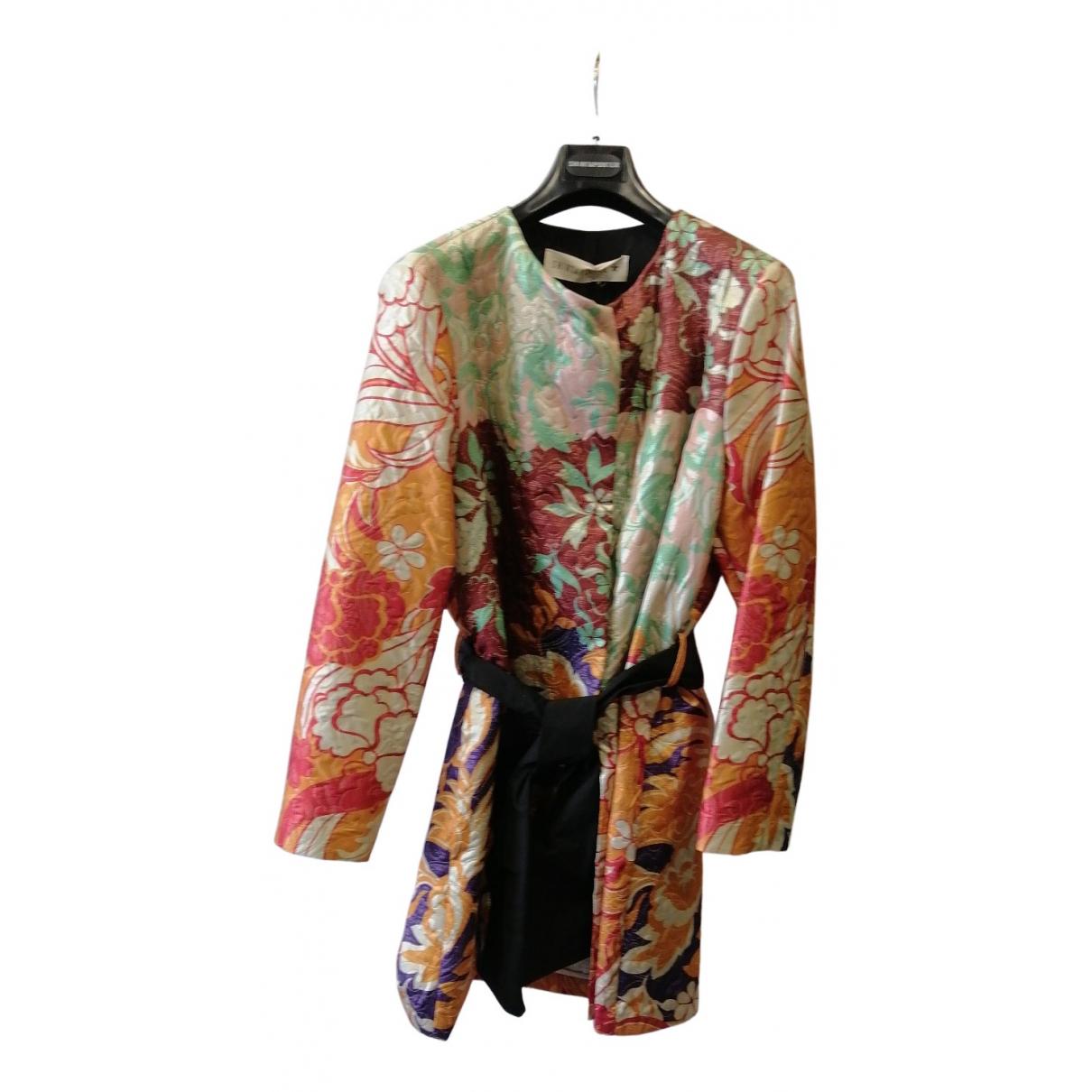 Shirtaporter - Manteau   pour femme en coton - multicolore