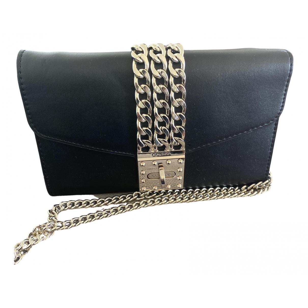 Guess N Black Clutch bag for Women N