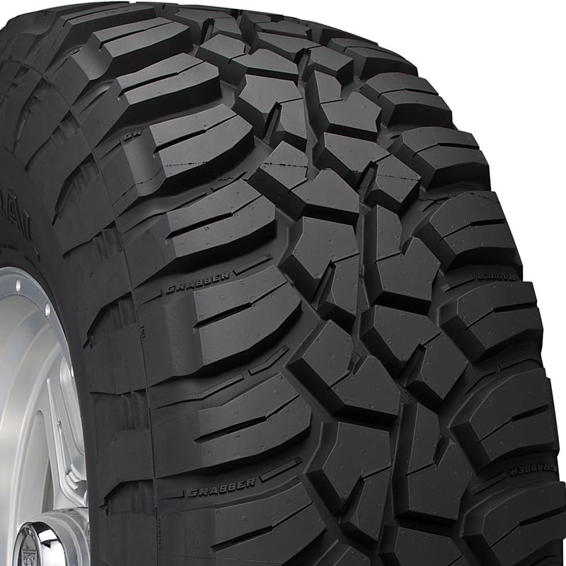 General Tires 04505900000 Grabber X3 Tire LT275/70 R18 125Q E1 BSW