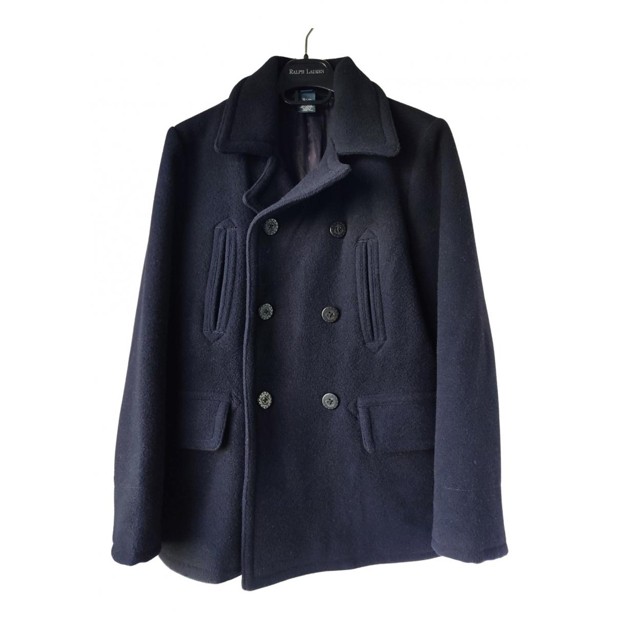 Polo Ralph Lauren \N Jacke, Maentel in  Blau Wolle