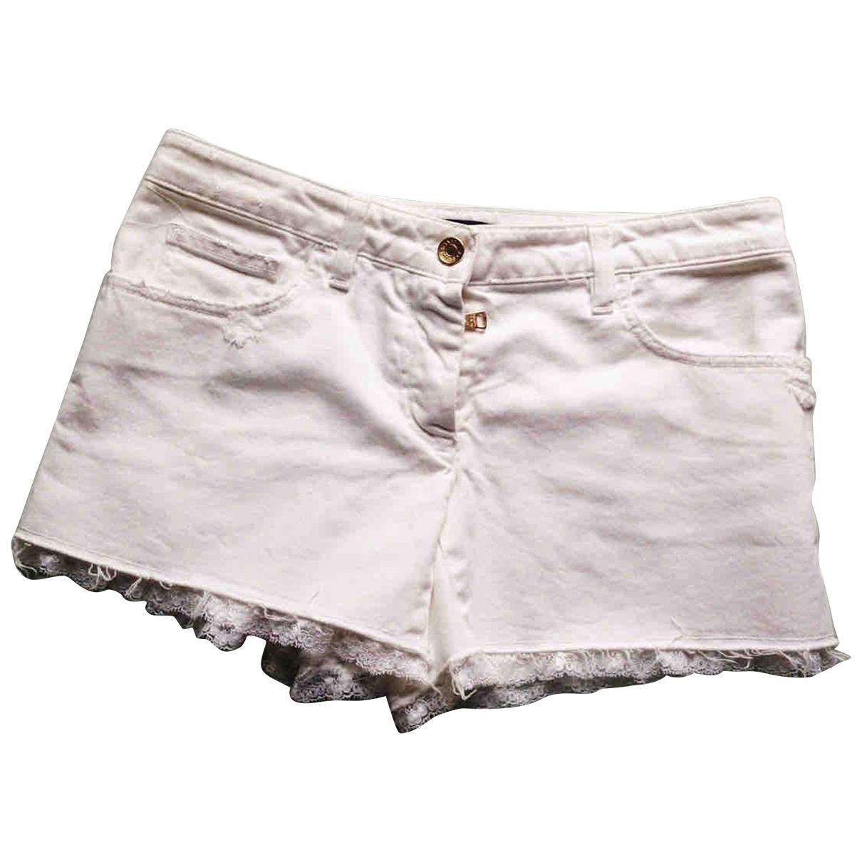 Dolce & Gabbana \N Shorts in  Weiss Baumwolle