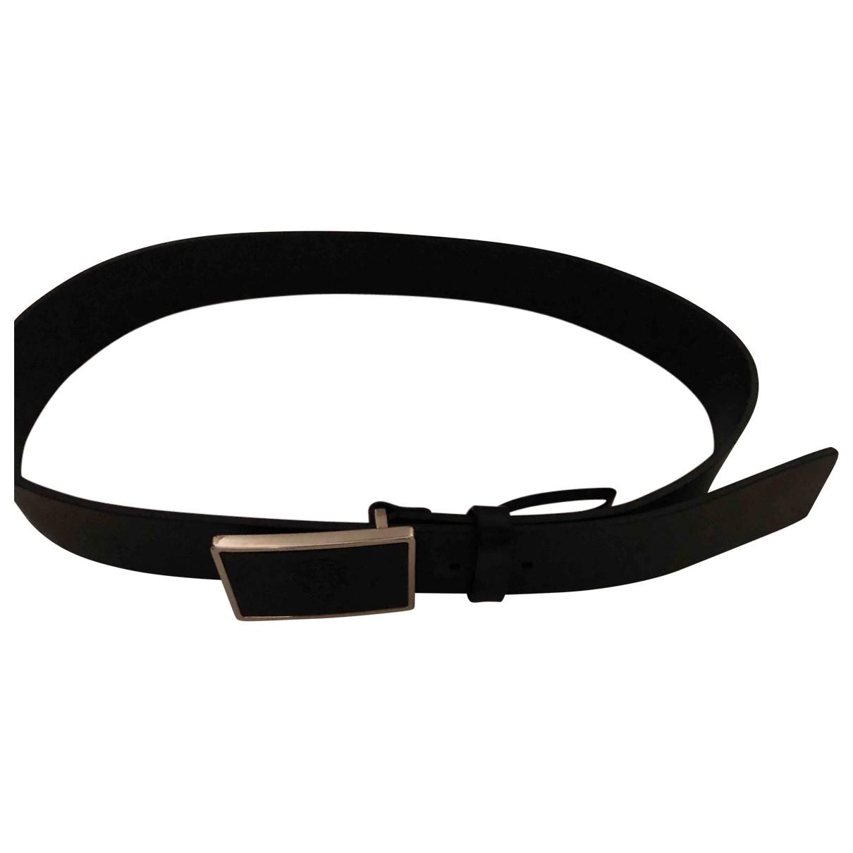 Gucci \N Black Leather belt for Men 95 cm