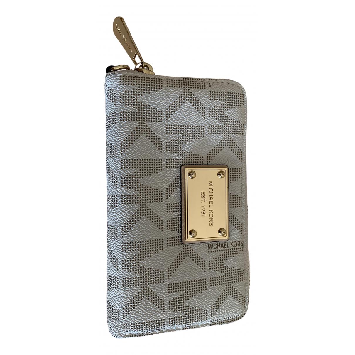 Michael Kors \N White Leather wallet for Women \N