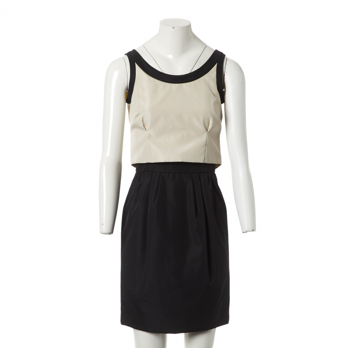 Balenciaga \N Kleid in  Schwarz Polyester