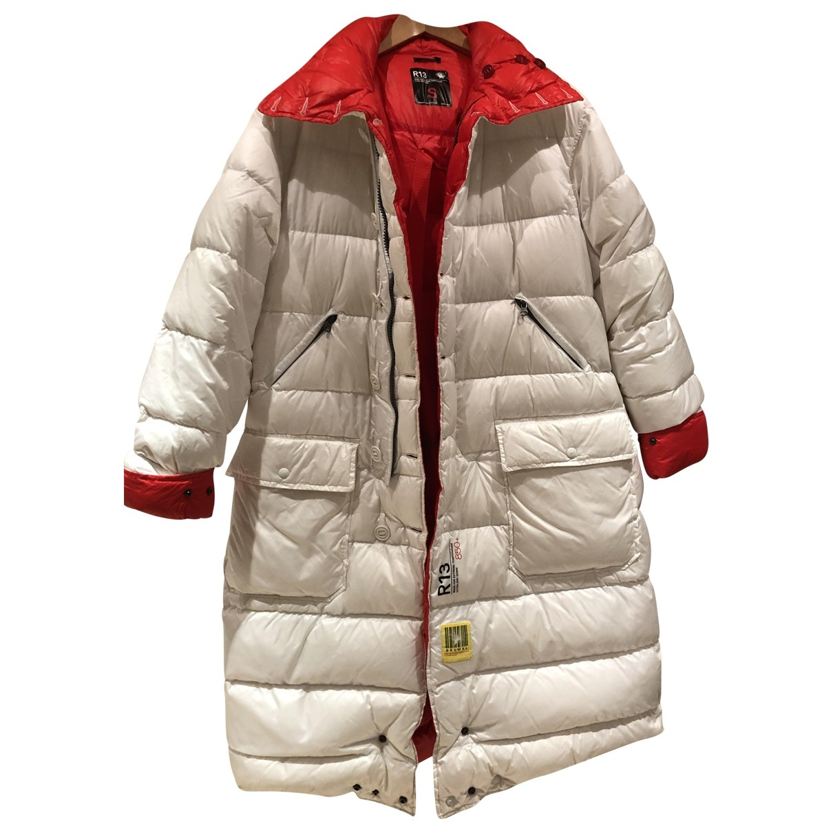 R13 - Manteau   pour femme - blanc