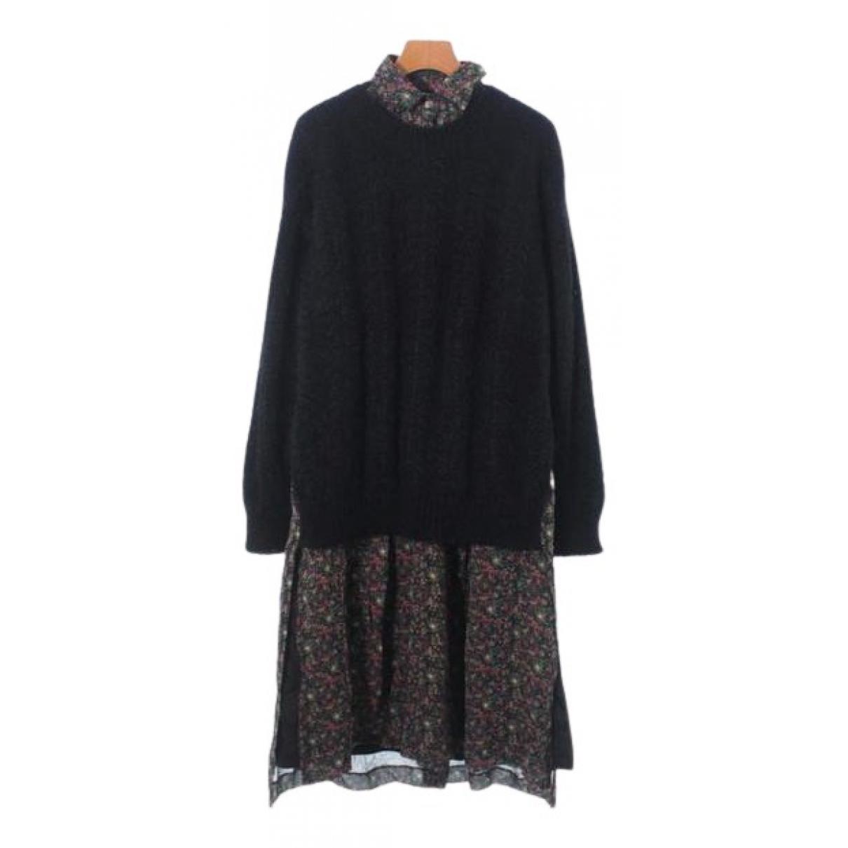Junya Watanabe - Robe   pour femme en laine - noir