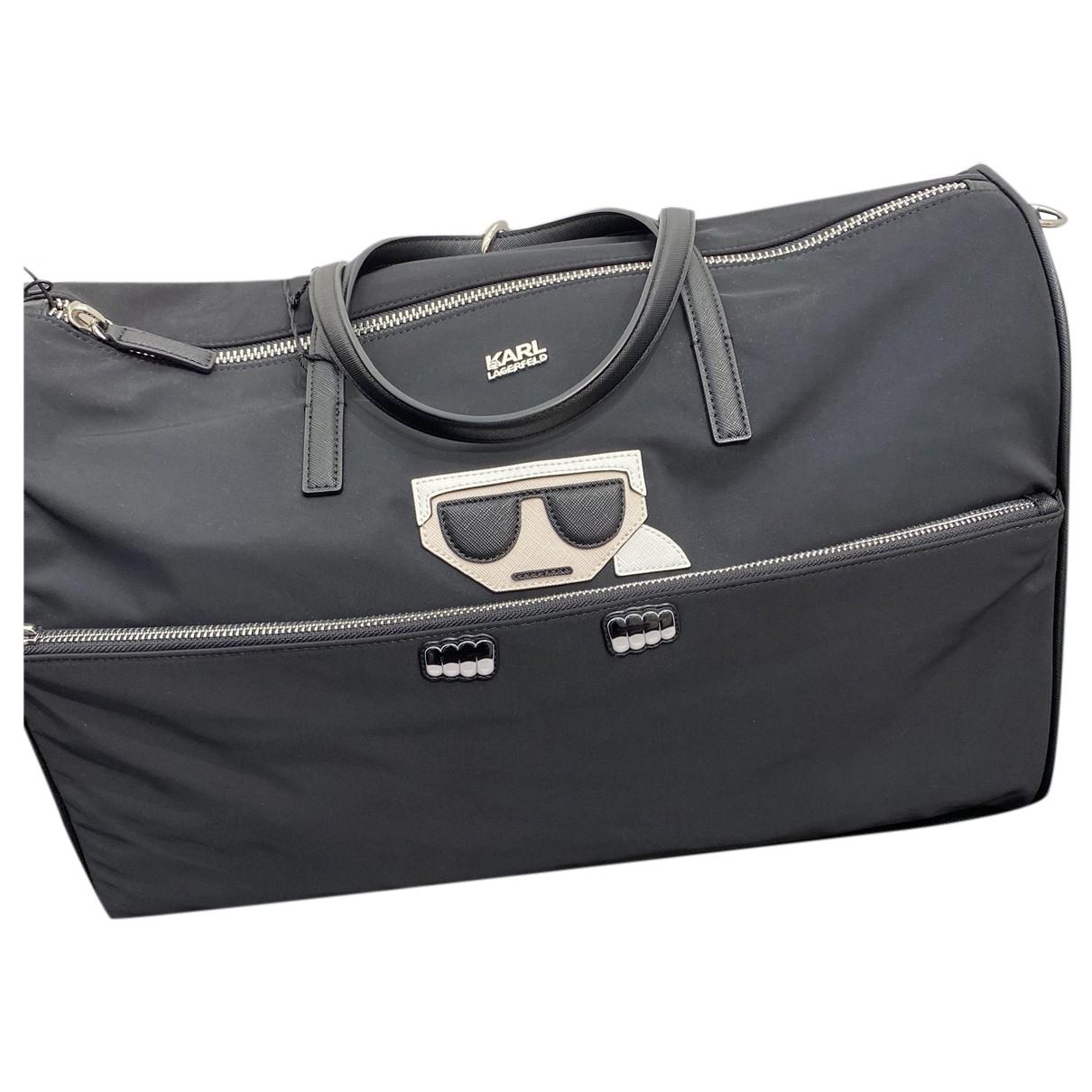 Bolso de viaje de Lona Karl Lagerfeld
