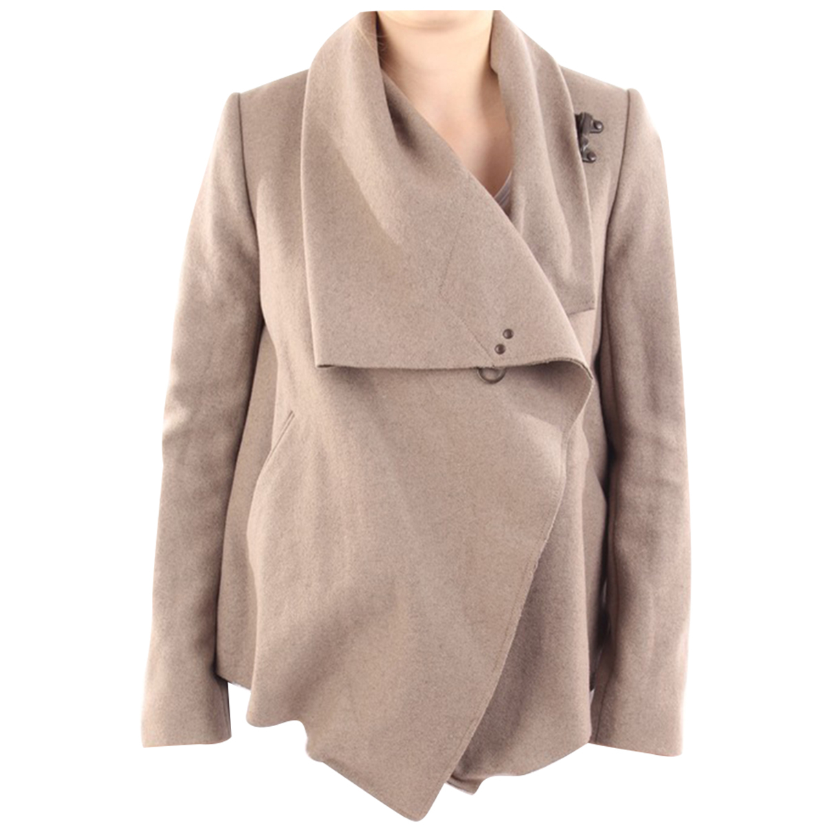 All Saints \N Beige Wool jacket for Women 34 FR