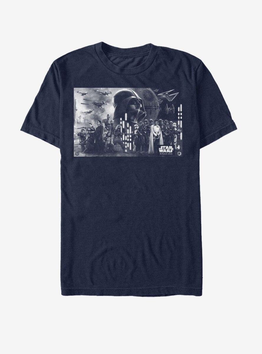 Star Wars Death Star Battle Groupshot T-Shirt