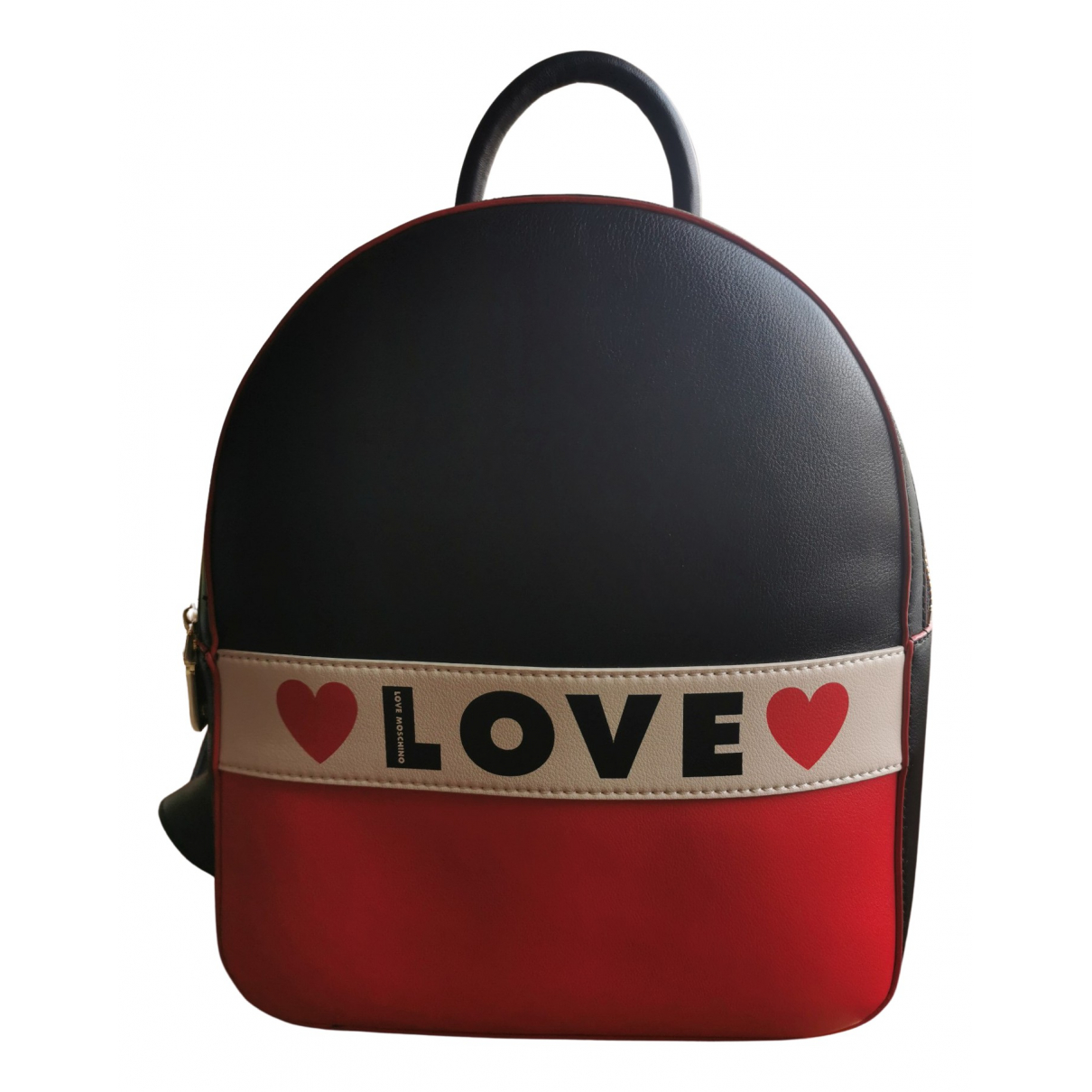 Moschino Love \N Rucksaecke in  Marine Synthetik