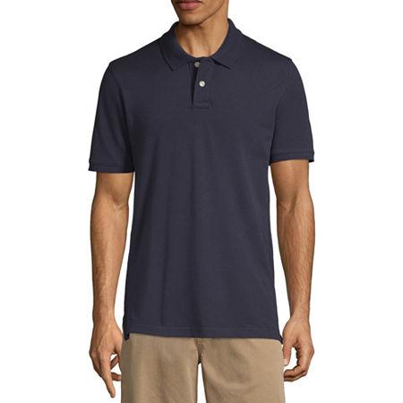Arizona Short-Sleeve Flex Polo, X-small , Blue