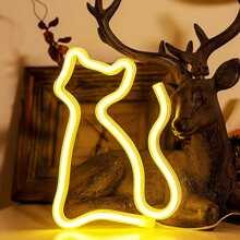 1 Stueck Wandlampe in Katzenform