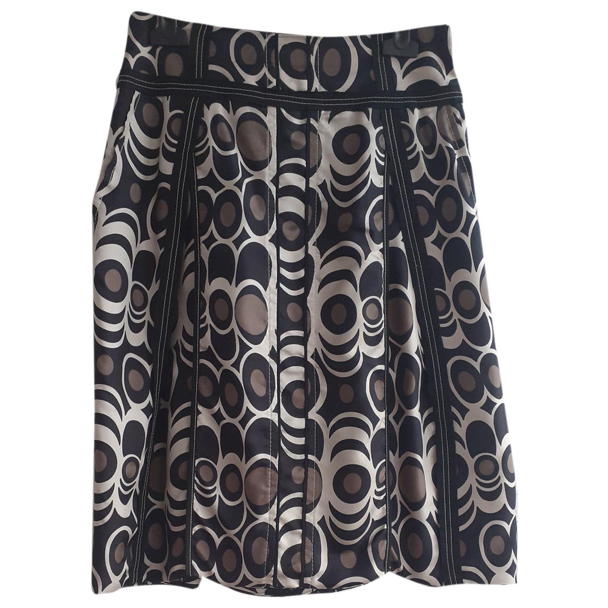 Laurel N Black Silk skirt for Women 34 FR