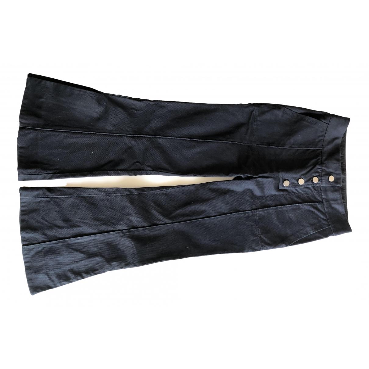 Pantalon en Algodon Marino H&m Studio