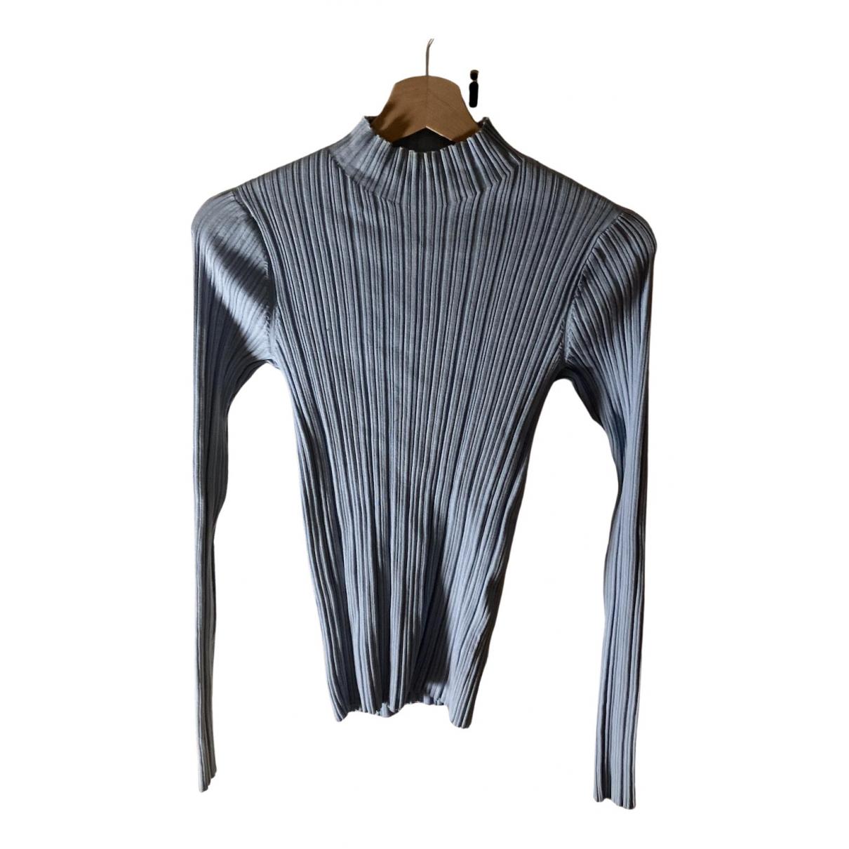Acne Studios N Blue Cotton Knitwear for Women S International