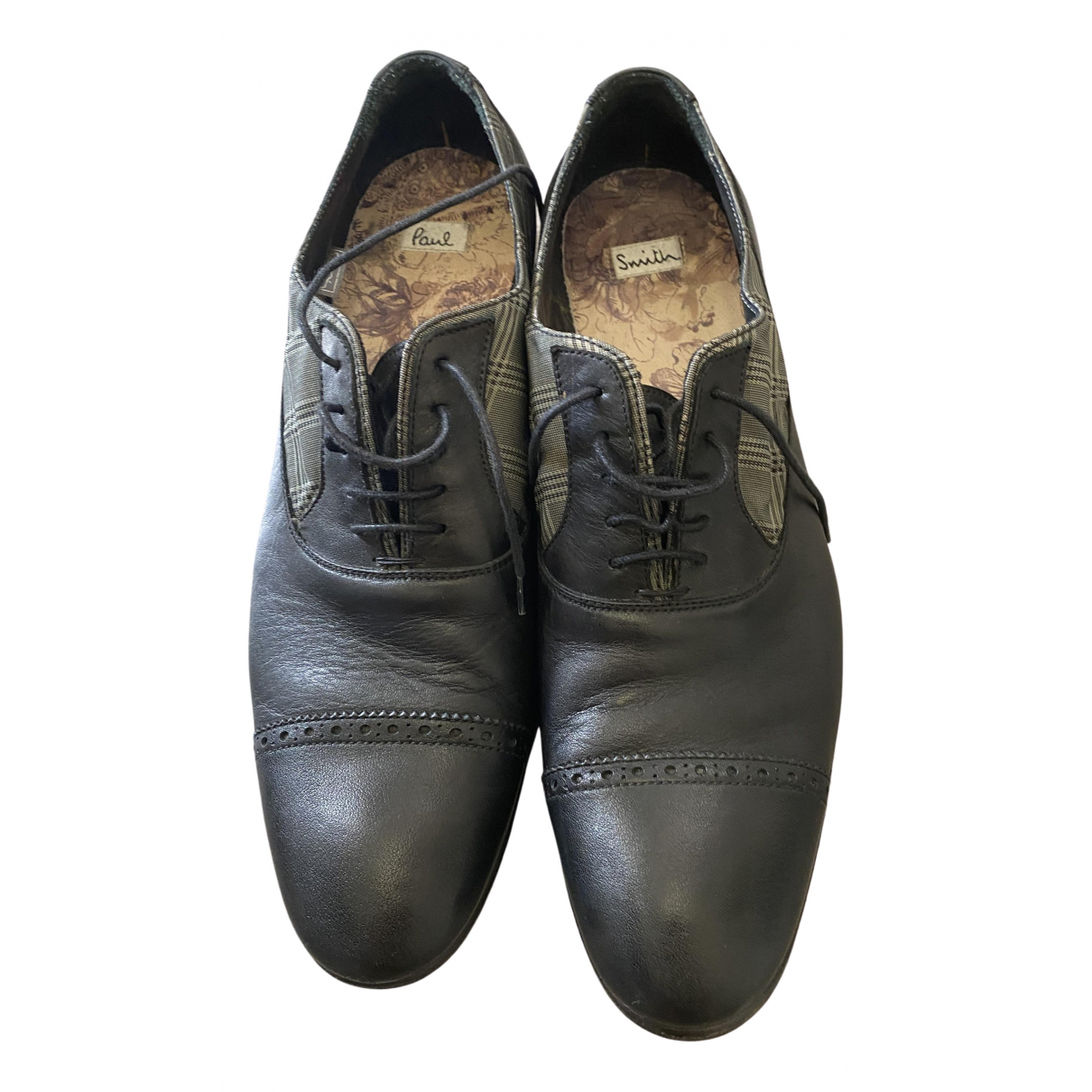 Paul Smith - Derbies   pour homme en cuir - noir