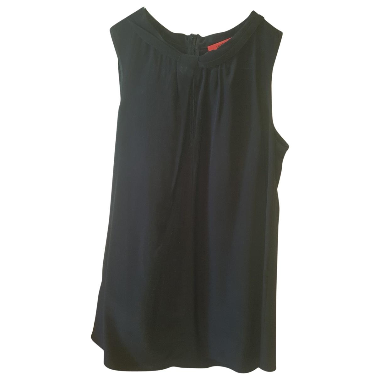 Hugo Boss \N Black Silk  top for Women 38 FR