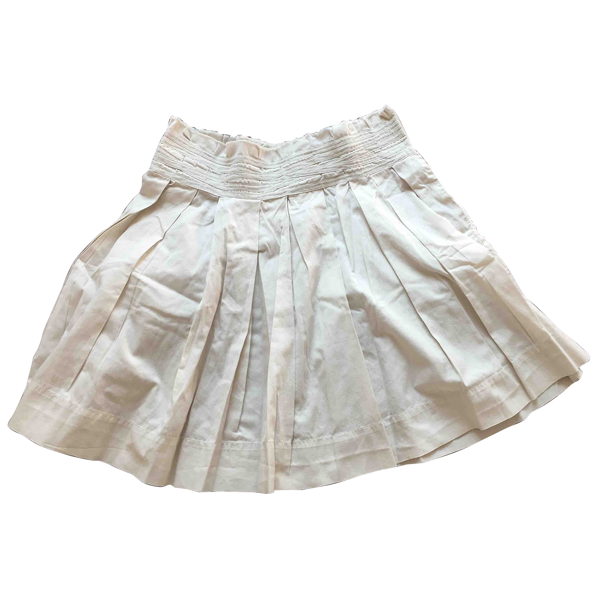 Jucca \N White Cotton skirt for Women 42 IT