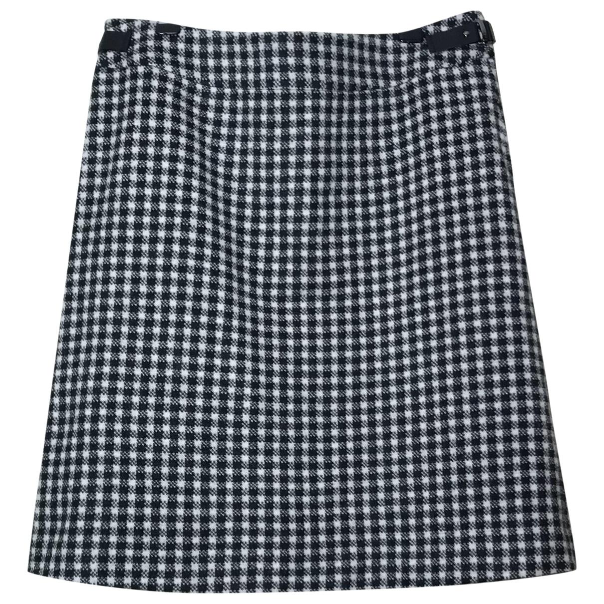 Boss \N Multicolour Wool skirt for Women 38 FR