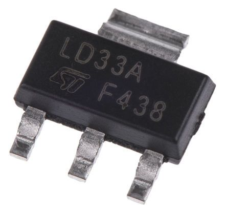 STMicroelectronics STN9360 PNP Transistor, 500 mA, 600 V, 3 + Tab-Pin SOT-223 (25)