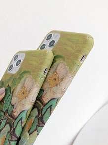 Flower Print iPhone Case