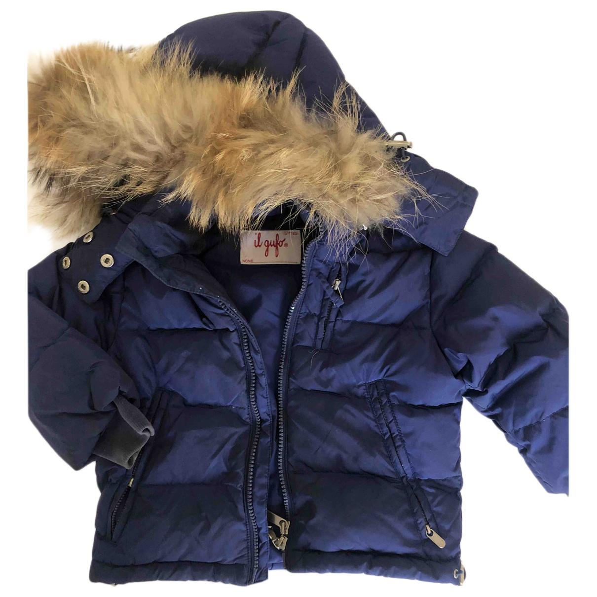 Il Gufo - Blousons.Manteaux   pour enfant - bleu