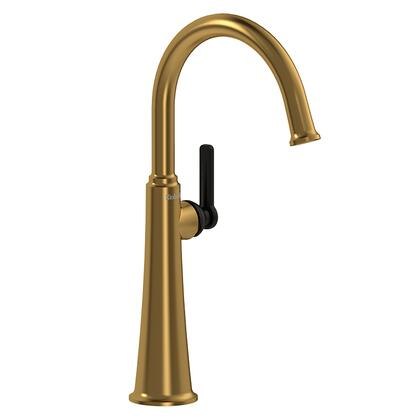 Momenti MMRDL01JBGBK Single Hole Lavatory Faucet with J Lever Handle 1.5 GPM  in Brushed