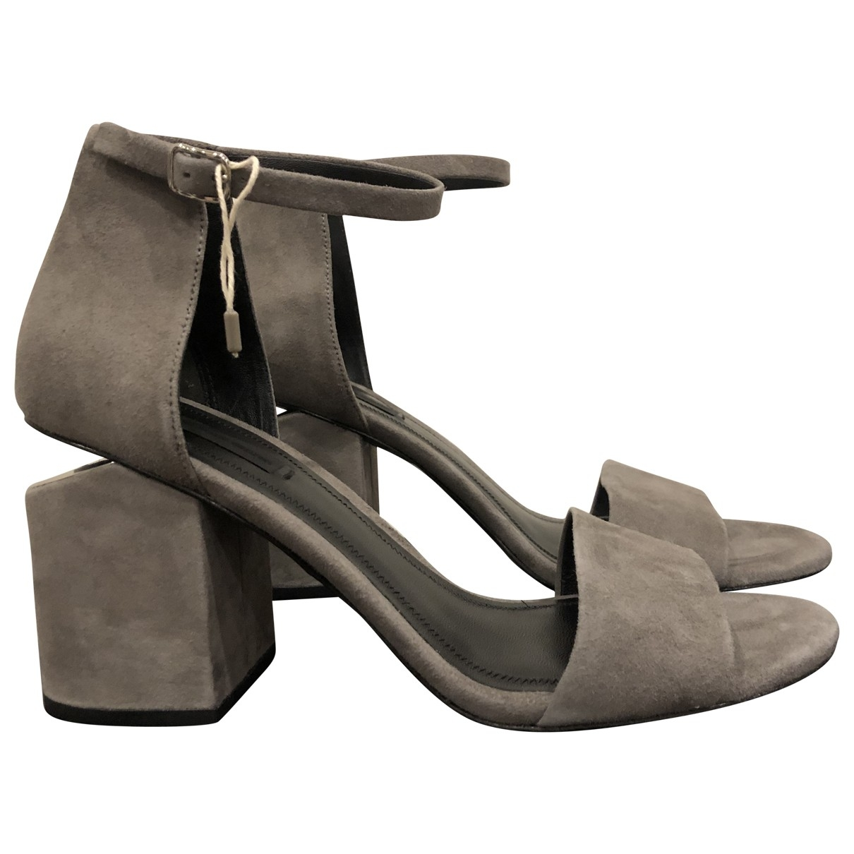 Alexander Wang \N Grey Suede Sandals for Women 39.5 EU