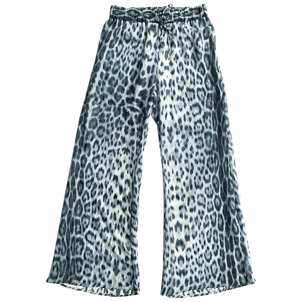 Roberto Cavalli Beachwear - Bain   pour femme en coton - bleu