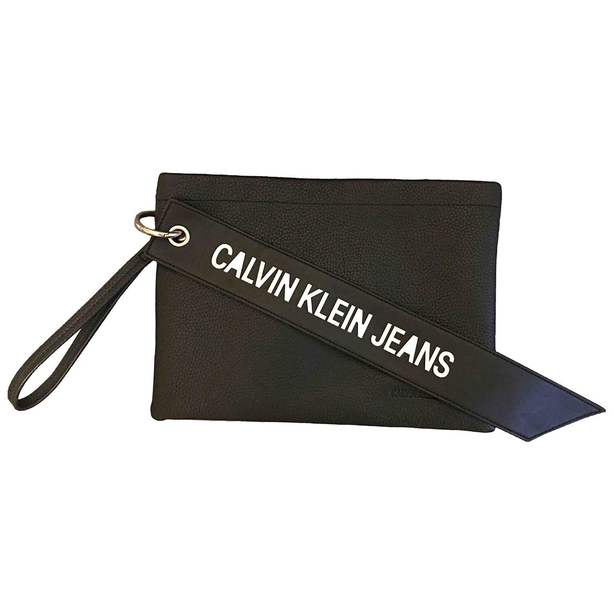 Bolso baguette de Lona Calvin Klein