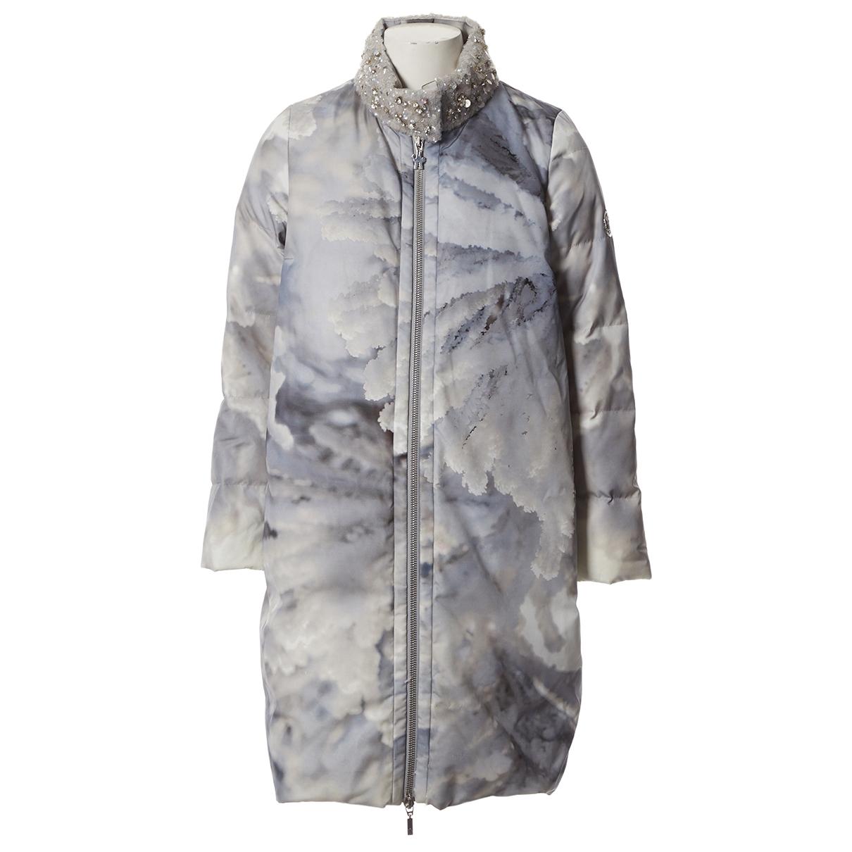 Moncler - Manteau Long pour femme - gris