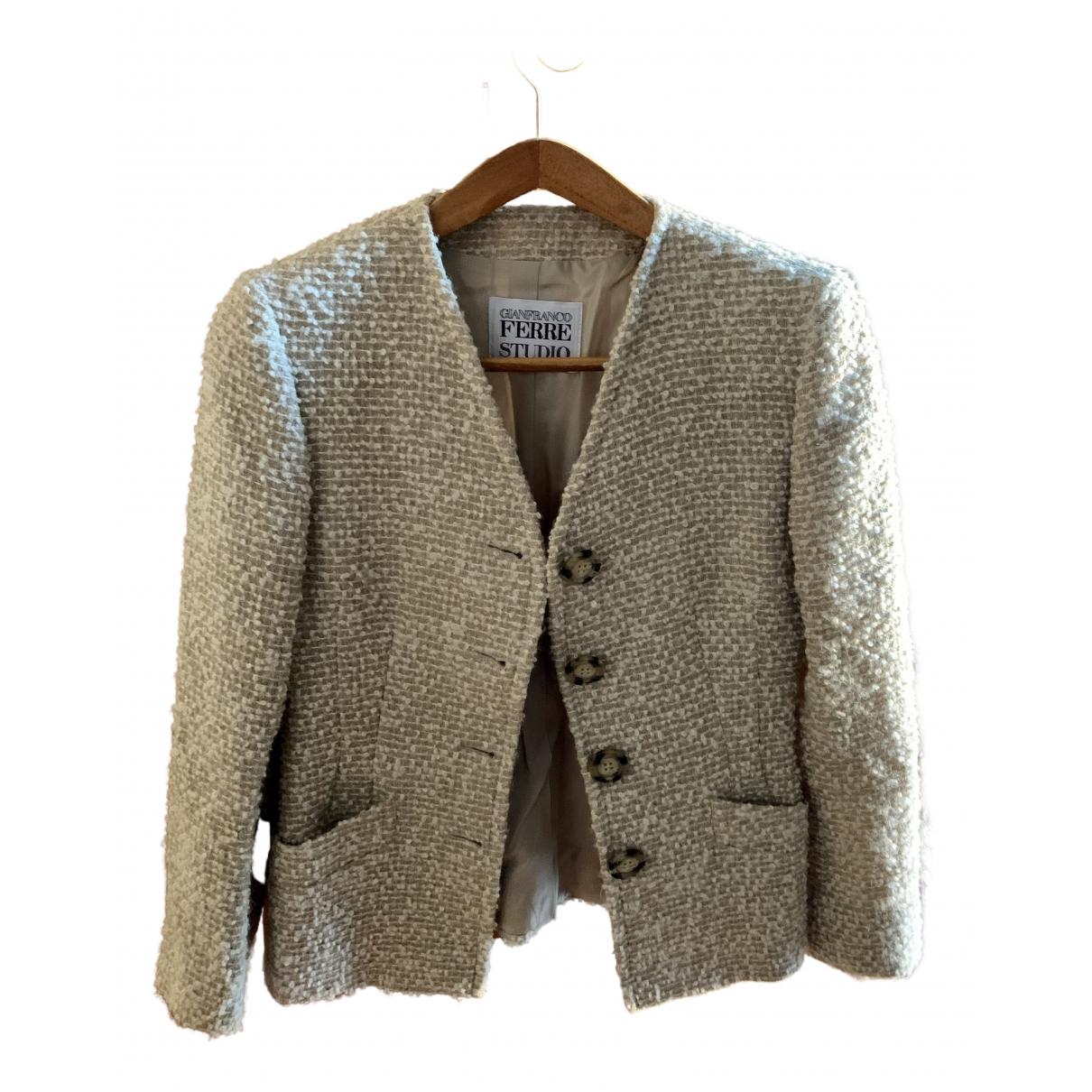 Gianfranco Ferré N Beige Wool jacket for Women 42 IT