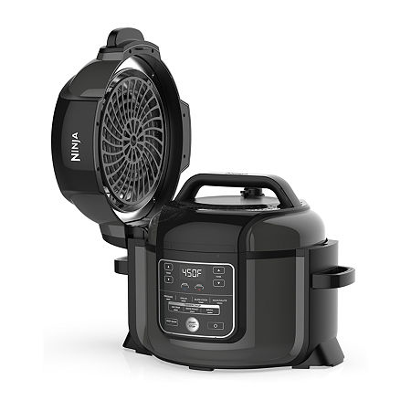 Ninja Foodi 6.5 Quart Pressure Cooker & Air Fryer, One Size , Black